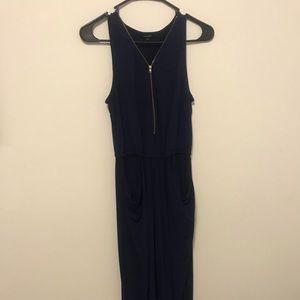 Navy Blue Full Body Jumpsuit